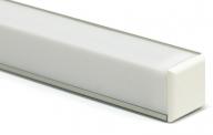 Профиль для светодиодной ленты PF-10 с рассеивателем
