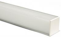 Профиль для светодиодной ленты PF-12 с рассеивателем
