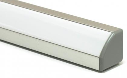 Профиль для светодиодной ленты PF-8 с рассеивателем