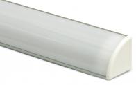Профиль для светодиодной ленты PF-9 с рассеивателем