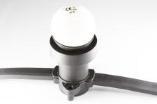 Гирлянда BRIGHTLED BELT LIGHT 100м (Белт лайт) - 250 ламп Е27, кабель - чёрный