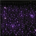 Гирлянда DELUX Curtain 2x3м (Штора) 912LED фиолет