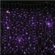 Гірлянда DELUX Curtain 2x3м (Штора) 912LED фіолет