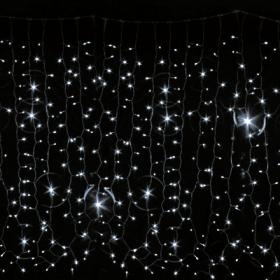 Гирлянда DELUX Curtain 2x7м (Штора) 1520LED белый