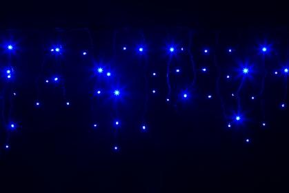Гирлянда BRIGHTLED ICICLE 3x0,5м (Сталактит) LED синий