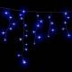 Гірлянда DELUX ICICLE 2x1м Flash (Мерехтливий Сталактит) LED синій