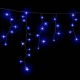 Гирлянда DELUX ICICLE 2x1м Flash  (Мерцающий Сталактит) LED синий
