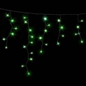 Гирлянда DELUX ICICLE 2x0,7м Flash  (Мерцающий Сталактит) LED зеленый