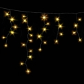 Гирлянда DELUX ICICLE 2x0,5м (Сталактит) LED желтый