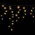 Гірлянда DELUX ICICLE 2x0,7м Flash (Мерехтливий Сталактит) LED жовтий