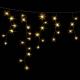 Гирлянда DELUX ICICLE 2x1м Flash  (Мерцающий Сталактит) LED желтый