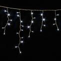Гірлянда DELUX ICICLE 2x1м Flash (Мерехтливий Сталактит)LED білий