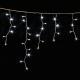 Гирлянда DELUX ICICLE 2x0,9м (Сталактит) LED белый