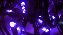 Гирлянда DELUX ICICLE 2x0,5м (Сталактит) LED фиолет