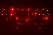 Гирлянда BRIGHTLED ICICLE 3x0,5м (Сталактит) LED красный