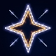 Гирлянда Мотив Sparkling Stars 2