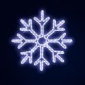 Гирлянда Мотив  SNOWFLAKE Снежинка