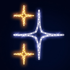 Гирлянда Мотив Сhristmas Stars 2