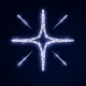 Гирлянда Мотив Sparkling Stars