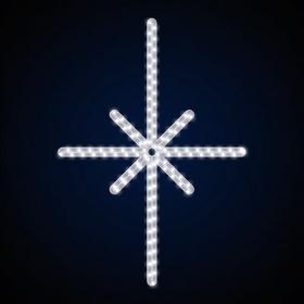 Гирлянда Мотив Сириус белая 90*60см