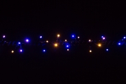 Гірлянда BRIGHTLED String (Нитка) Bi-color 10м синій + тепло-білий