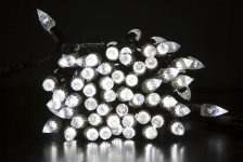Гирлянда BRIGHTLED String CRYSTAL 10м (Нить кристалл) LED белый