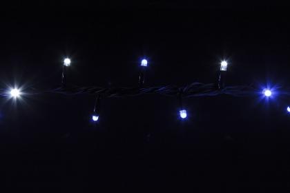Гирлянда BRIGHTLED String (Нить) Bi-color 10м синий + белый