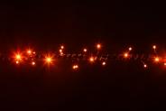 Гирлянда String 10м (Нить) LED оранжевый
