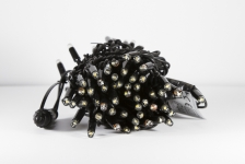 Гирлянда BRIGHTLED String FLASH (флеш нить, стробоскоп) LED DIAMOND TOTAL FLASH белый
