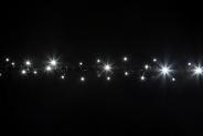 Гірлянда BRIGHTLED String FLASH  (флеш нитка, стробоскоп) LED DIAMOND TOTAL FLASH білий
