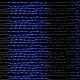 Гирлянда Waterfall 3м 5 сегментов (Водопад) 320 LED синяя, кабель - прозрачный
