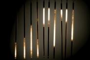 Гирлянда BRIGHTLED SNOWFALL SET GOLD комплект 10 штук по 50см (снегопад) LED золотой