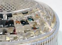 Стробоскоп LED светодиодный накладной SLD +18 LED прозрачный