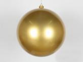 Шар пластиковый 25 см, Золотой перламутр