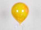 Воздушный шар пластиковый 20 см, желтый