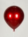 Воздушный шар пластиковый 28 см, красный перламутр