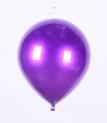 Воздушный шар пластиковый 20 см, фиолетовый