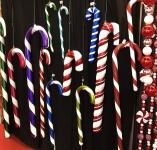 Рождественский Леденец пластиковый 61 см